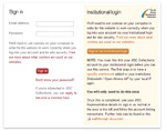 JISC Collections Login Example